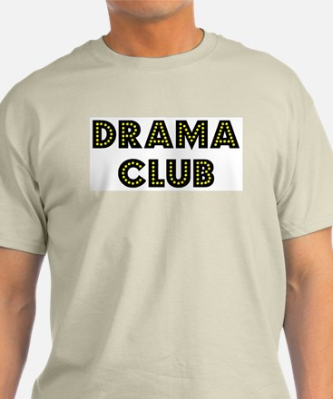 "Drama Club ""Label Me"" Ash Grey T-Shirt"