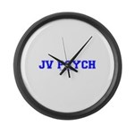 JV Psych Large Wall Clock