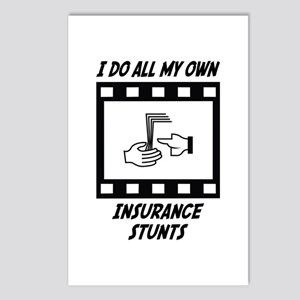 Insurance Stunts Postcards (Package of 8)