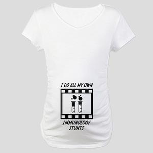 Immunology Stunts Maternity T-Shirt