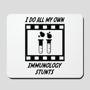 Immunology Stunts Mousepad