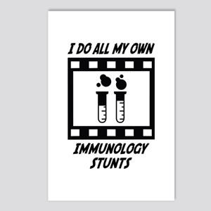 Immunology Stunts Postcards (Package of 8)