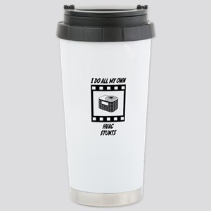 HVAC Stunts Stainless Steel Travel Mug