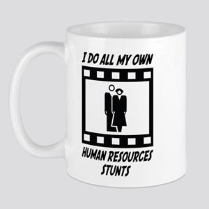 Human Resources Stunts Mug
