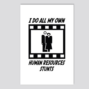 Human Resources Stunts Postcards (Package of 8)