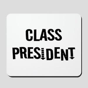 "Class President ""Label Me"" Mousepad"