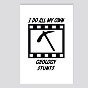 Geology Stunts Postcards (Package of 8)