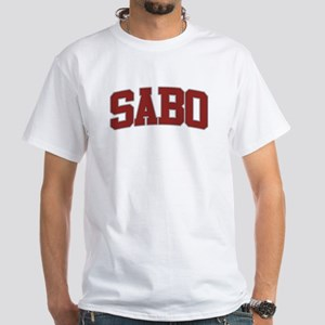 SABO Design White T-Shirt
