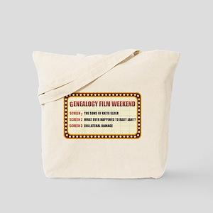 Film Weekend Tote Bag