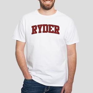RYDER Design White T-Shirt