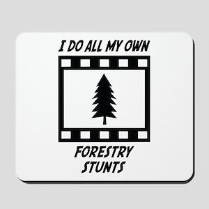 Forestry Stunts Mousepad