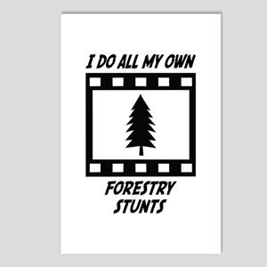Forestry Stunts Postcards (Package of 8)