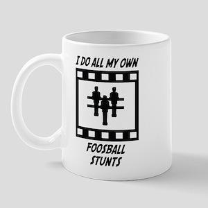 Foosball Stunts Mug