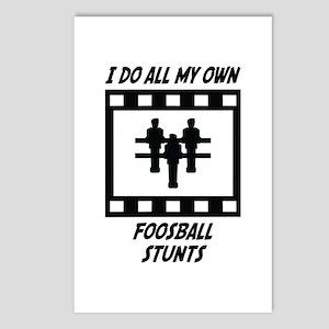 Foosball Stunts Postcards (Package of 8)