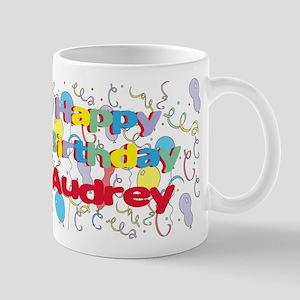 Happy Birthday Audrey Mug