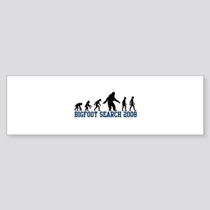 Bigfoot Search 2008 Bumper Sticker