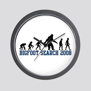 Bigfoot Search 2008 Wall Clock