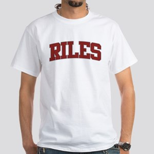 RILES Design White T-Shirt