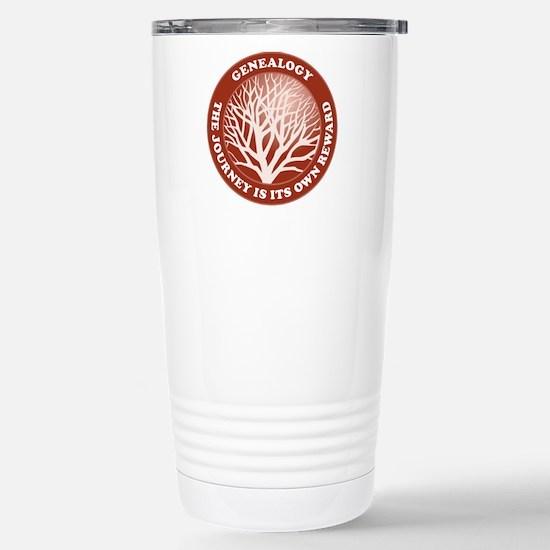 Journey Reward (Rd) Stainless Steel Travel Mug