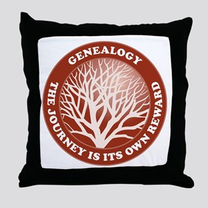 Journey Reward (Rd) Throw Pillow