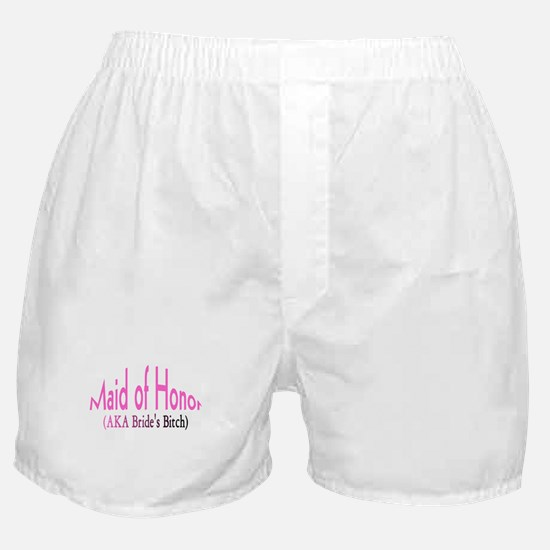 Maid of Honor (AKA Bride's Bitch) Boxer Shorts
