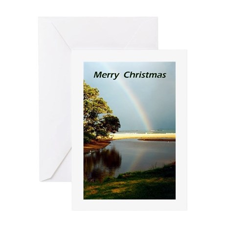 Cooper's Beach Christmas Greeting Card