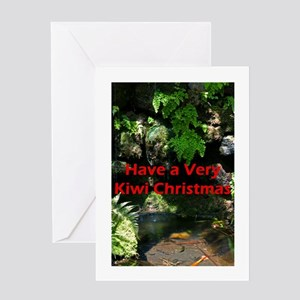 Forest Christmas Greeting Card
