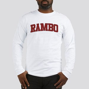 RAMBO Design Long Sleeve T-Shirt