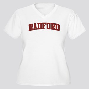 RADFORD Design Women's Plus Size V-Neck T-Shirt