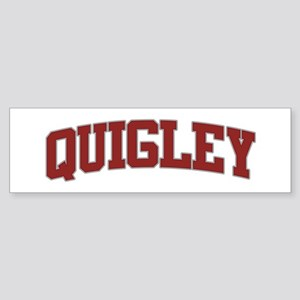 QUIGLEY Design Bumper Sticker