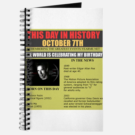 october 7th Journal