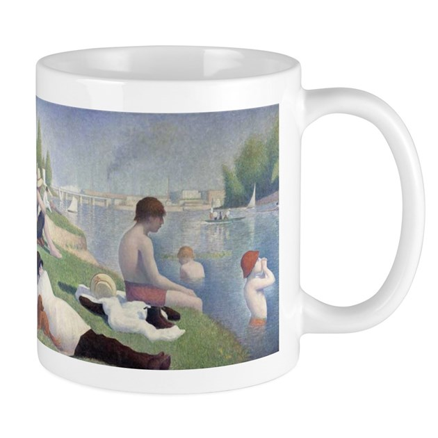 Bathers at asnieres mug by doriansgifts for Design your own bathers