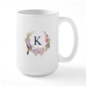 monogram mugs cafepress