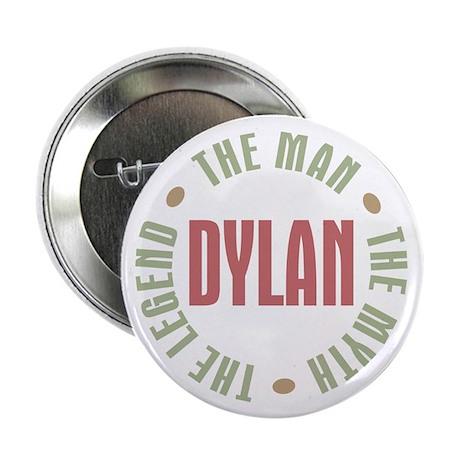 "Dylan Man Myth Legend 2.25"" Button (100 pack)"