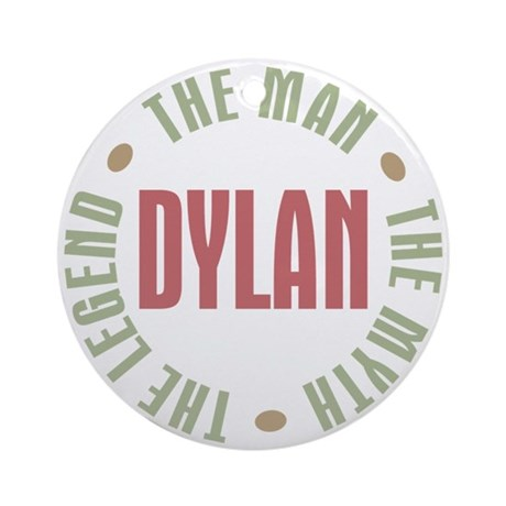Dylan Man Myth Legend Ornament (Round)