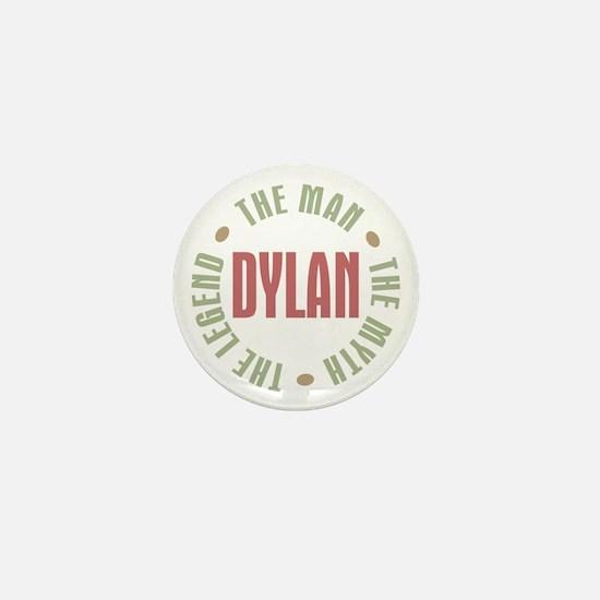 Dylan Man Myth Legend Mini Button
