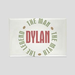 Dylan Man Myth Legend Rectangle Magnet