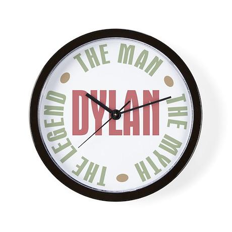 Dylan Man Myth Legend Wall Clock