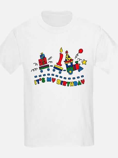 Choo Choo First Birthday T-Shirt