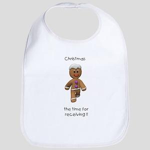 Christmas the time for receiving (GM) Bib