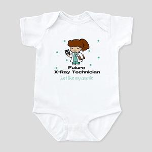 Future X-Ray like Tech Auntie Baby Infant Bodysuit
