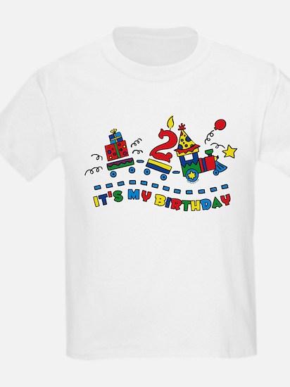 Choo Choo Second Birthday T-Shirt