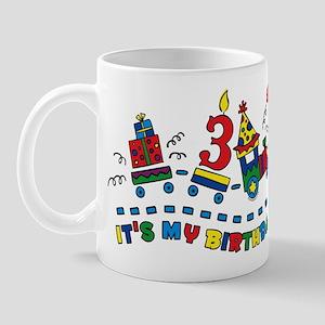 Choo Choo Third Birthday Mug