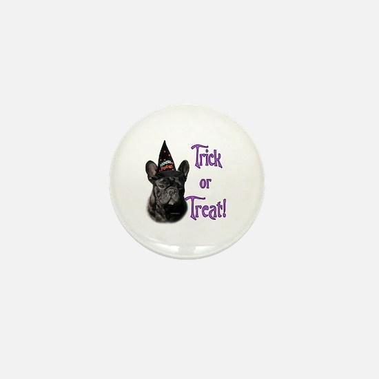 Frenchie Trick Mini Button