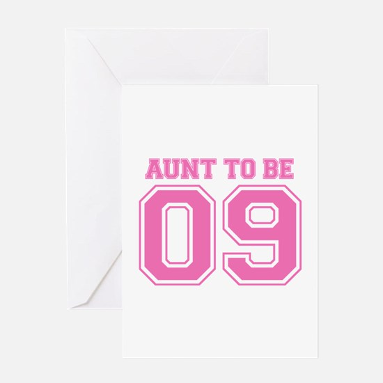 Aunt To Be 09 (Pink) Greeting Card