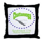 Chattanooga, TN Throw Pillow