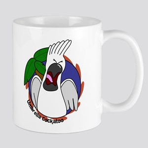 Cartoon Umbrella Cockatoo Mug