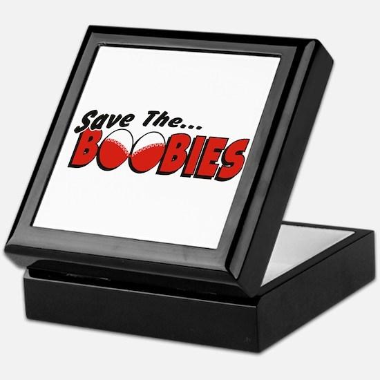 Cute Save boobies Keepsake Box
