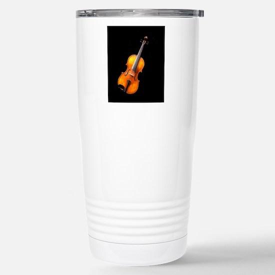 Violin / Viola 2 Stainless Steel Travel Mug