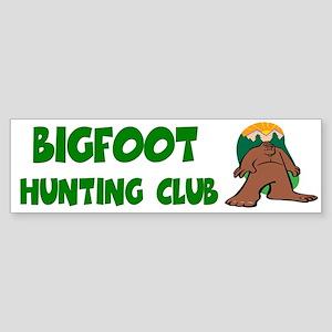 Bigfoot Bumper Sticker